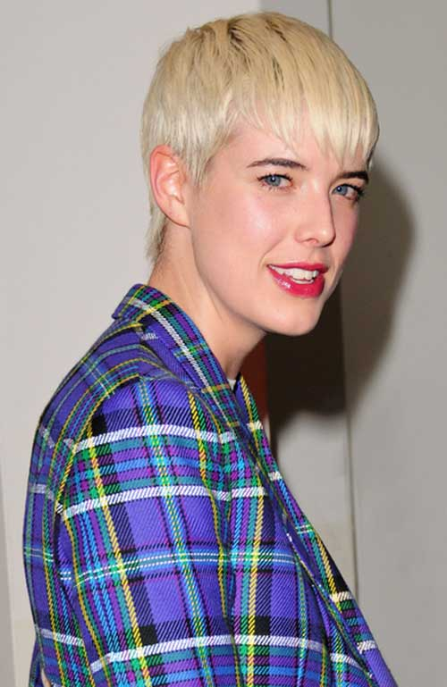 Agyness Deyn Short Pixie Cuts