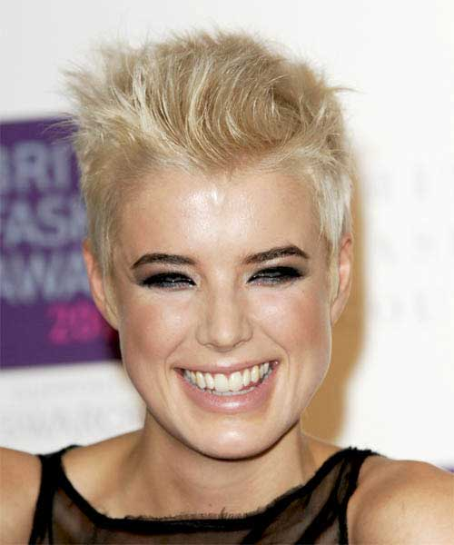 Agyness Deyn Spiky Pixie Haircut