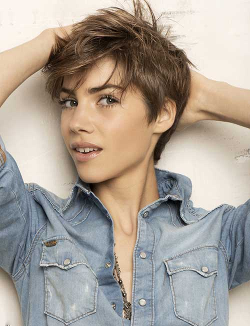 Ash Color Ideas for Pixie Cuts