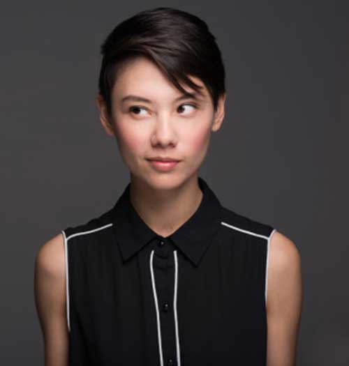 Asian Straight Hair Pixie Cut Ideas