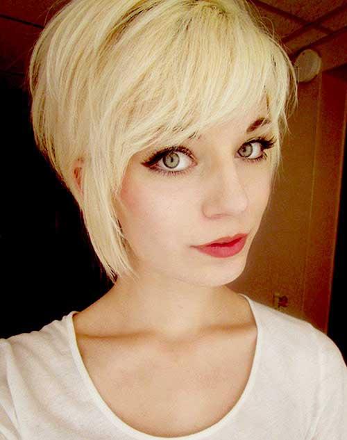 Asymmetrical Feminine Pixie Haircuts