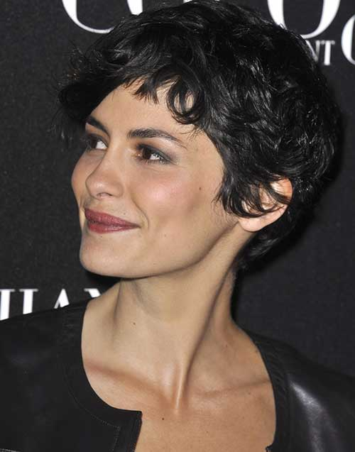 Audrey Tautou Chic Pixie Hair