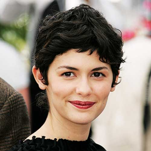 Best Audrey Tautou Pixie Hair Style