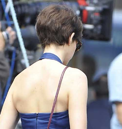 Back of Classy Pixie Haircut Ideas