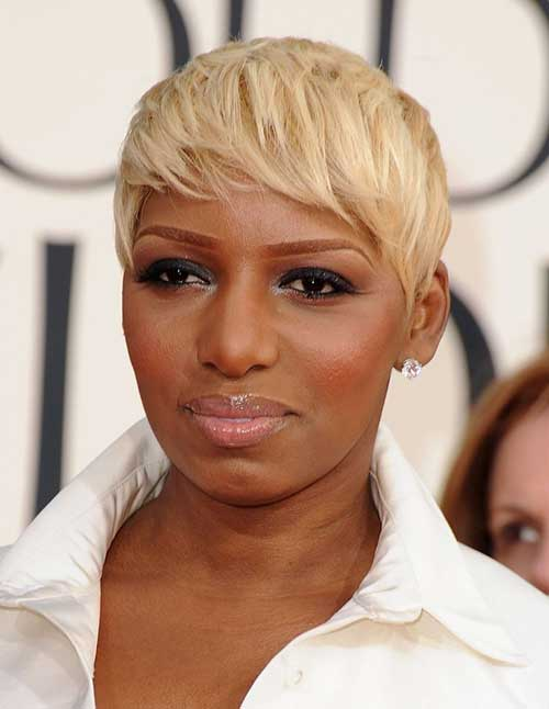 Blonde Casual Pixie Haircuts 2014-2015