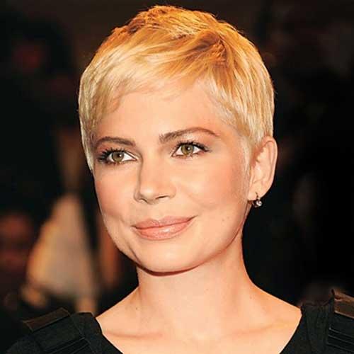 Blonde Pixie Hair Cut 2014-2015