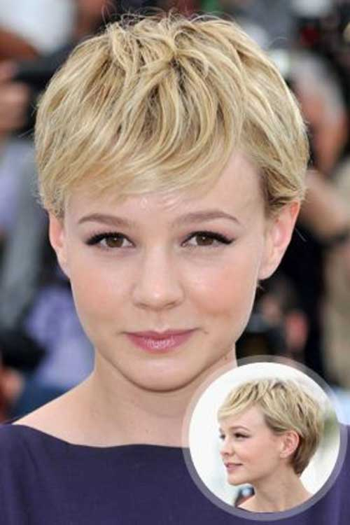 Chic Blonde Pixie Hairstyle Ideas