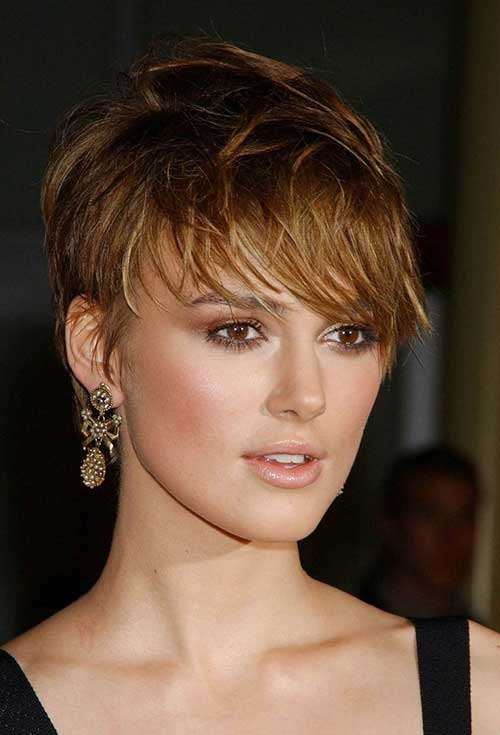 Chic Brown Pixie Hair Color Ideas