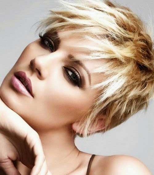 Choppy Pixie Hair Cut 2014