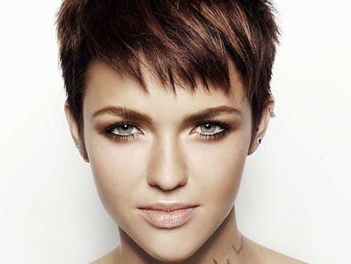 Choppy Pixie Hair Cut Ideas