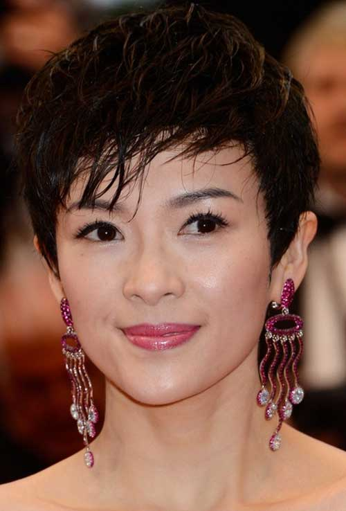 Cool Asian Hair Pixie Cut Styles