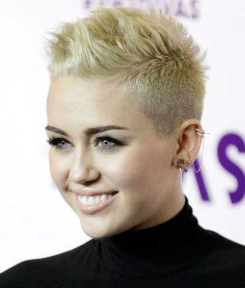 Cool Light Blonde Pixie Haircuts