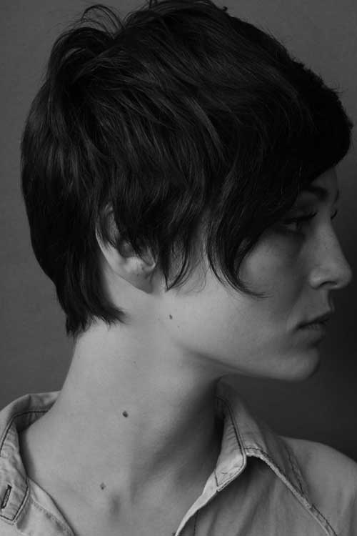 Cool Long Layered Pixie Haircuts