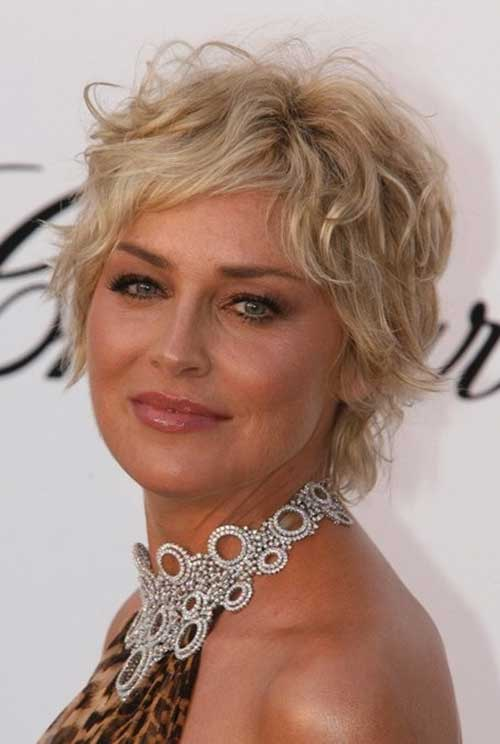 Curly Blonde Pixie Ideas for Women