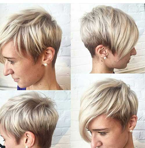 Cute Pixie Cropped Haircut