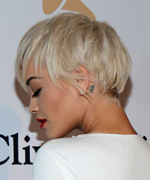Cute Blonde Pixie Cuts 2014
