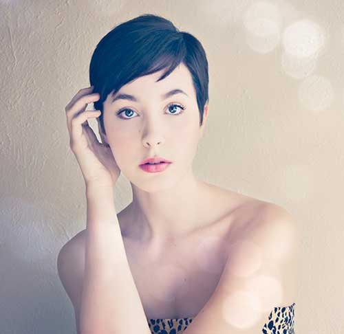 Cute Pixie Hair Cut Ideas Women