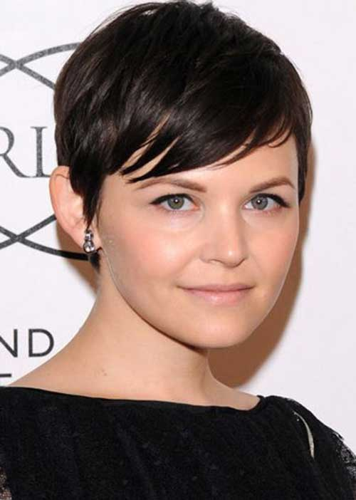 Easy Dark Pixie Cuts