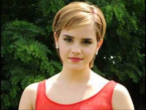 Emma Watson Casual Pixie Haircuts