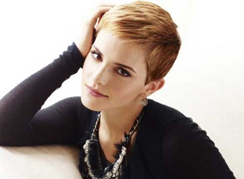 Emma Watson Pixie Hair Cut Idea