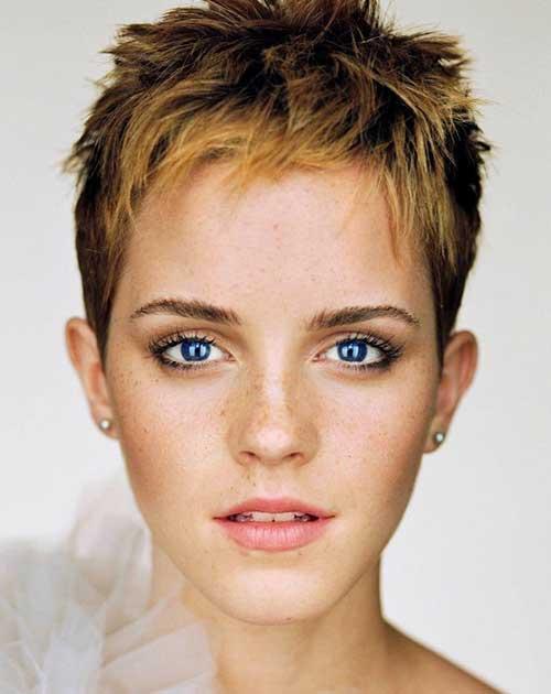 Emma Watson Spiky Pixie Hair