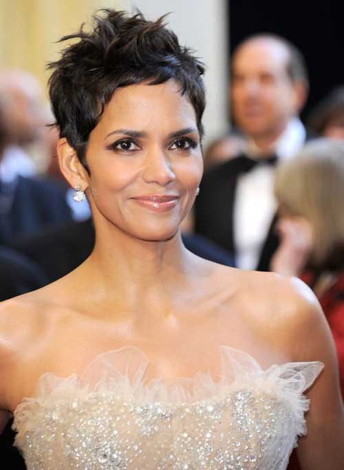 Famous Spiky Pixie Cuts