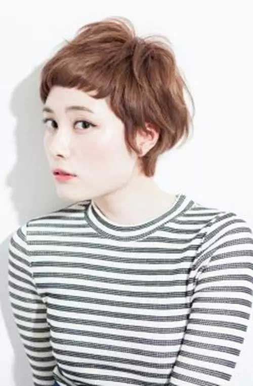 Feminine Pixie Cuts Brown Haircuts