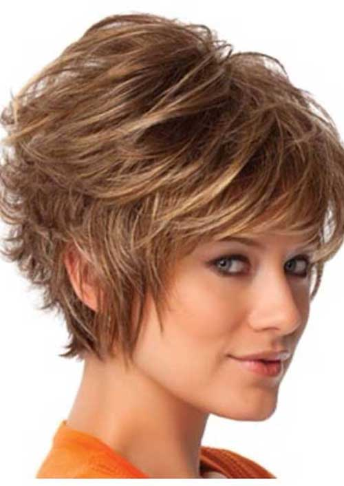 Feminine Pixie Graduated Cut Style