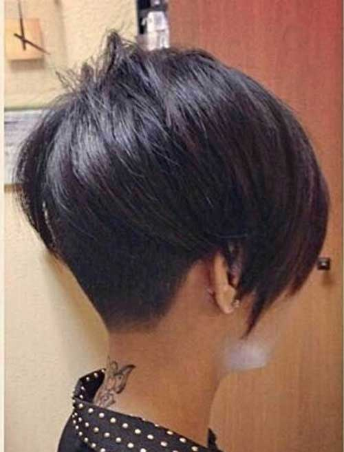 Feminine Pixie Haircut Side View