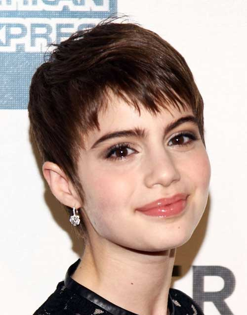 Fine Pixie Cuts Dark Brown Hair Ideas