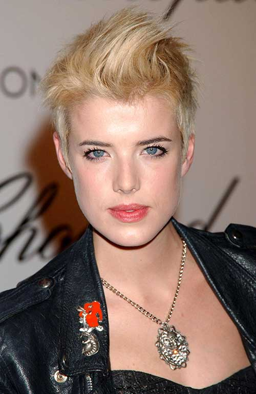Funky Short Pixie Hair Cuts Ideas