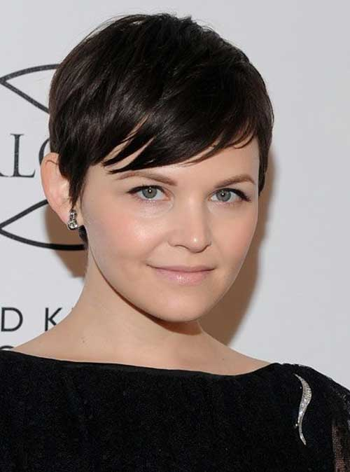Ginnifer Goodwin Boyish Straight Pixie Hair