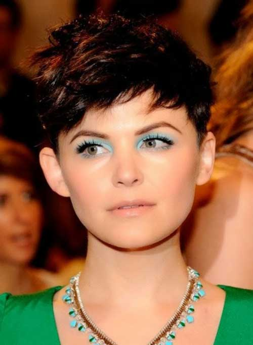 Ginnifer Goodwin Casual Pixie Hair