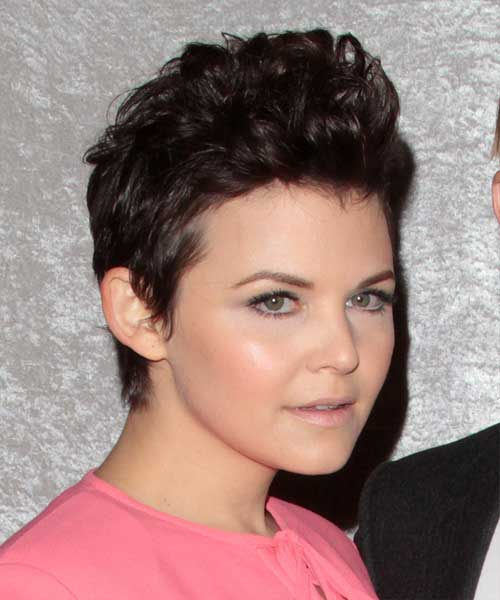 Ginnifer Goodwin Curly Pixie Hair Cuts