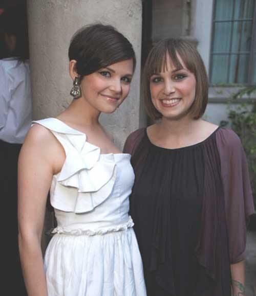 Stylish Ginnifer Goodwin Pixie Hair