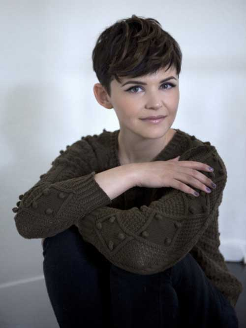 Ginnifer Goodwin Pixie Hairstyles Cute Hair Cuts