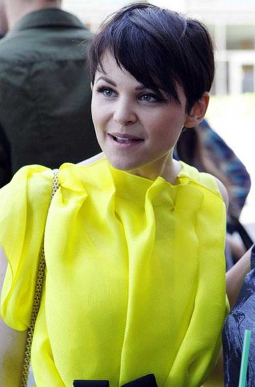 Ginnifer Goodwin Pixie Short Straight Hair Cuts