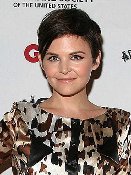Ginnifer Goodwin Short Straight Pixie