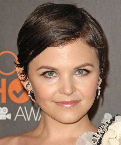 Ginnifer Goodwin Straight Hair Pixie Cuts