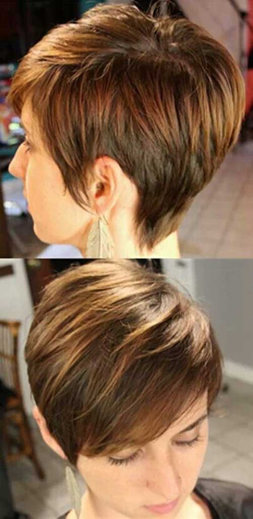 Girl's Highlighted Pixie Hair Ideas