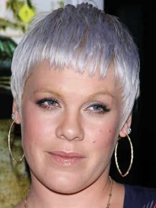 Grey Pixie Fine Hairstyles