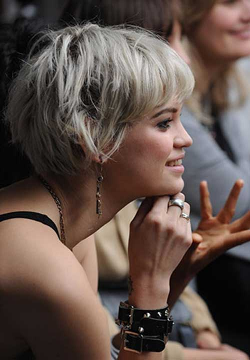 15 Grey Pixie Cuts
