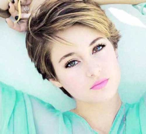 Highlighted Pixie Haircuts 2015