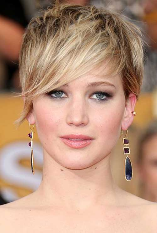 Jennifer Lawrence Pixie Cut 2014