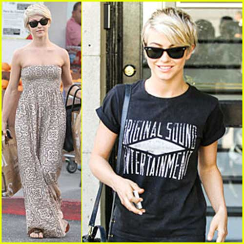 Julianne Hough Pixie Hairstyle Ideas