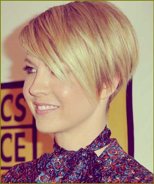 Layered Fine Long Pixie Cut with Bangs Styles