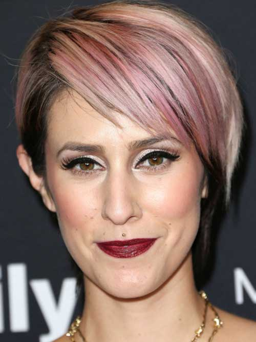 Layered Funky Pixie Hair Cuts