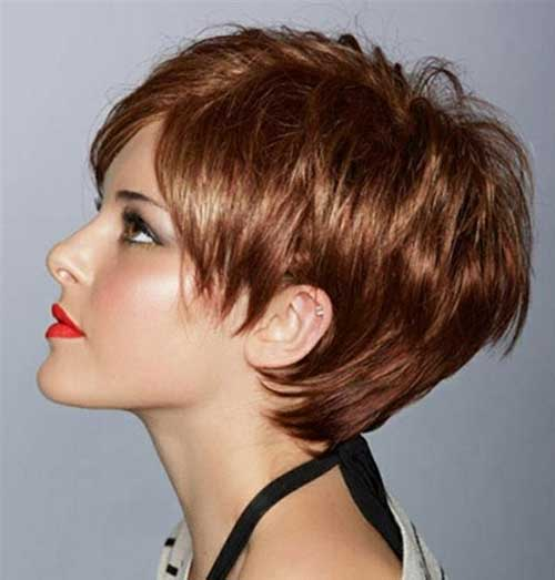 Layered Pixie Style Cuts for Women Over 50