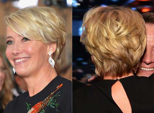 Layered Pixie Hairstyles Older Women 2015