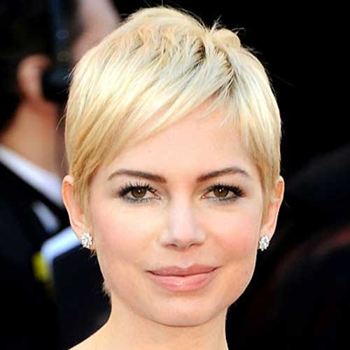 Light Blonde Pixie Hair Color Ideas